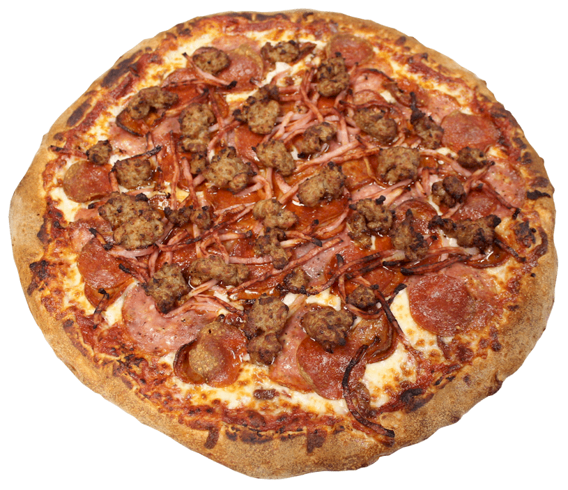 All Meat Pizza Menu