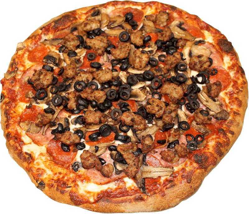 The Big E Pizza Menu